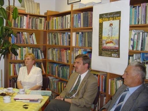 Bibliotekarzy interesowały sprawy czytelnictwa we Francji