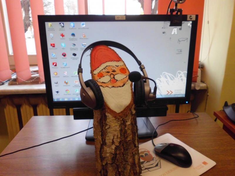 20.12.2011 - z komputerów PRB korzysta u nas nawet Mikołaj