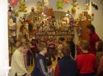 Dzieci ze Szkoły Podstawowej w Chełmcach - 30.11.2007