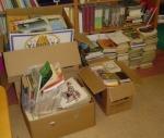 15.04.2011 - Zgromadzone książki i czasopisma dla rodaków na Łotwie