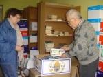 18.04.2011 - Stąd dary pojadą prosto do Daugavpils