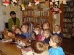 I jeszcze jedna grupa z Chełc - w wypożyczalni 30.11.2007