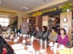 Odwiedziła nas Maria Krawiec, wójt gminy Lisków