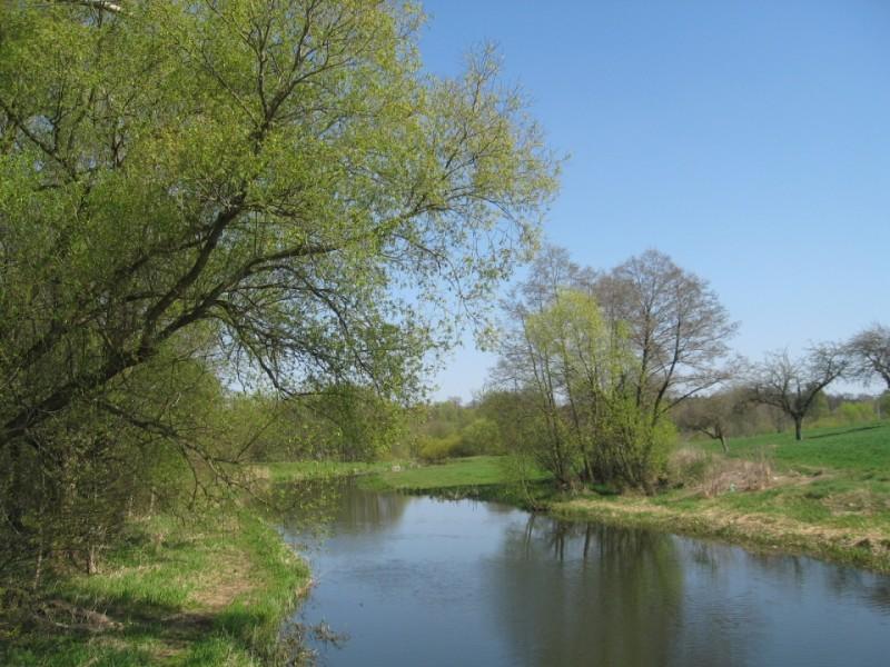 Wiosna nad Pokrzywnicą