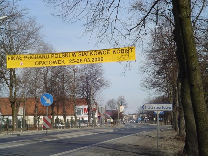W Opatówku rozgrywano mecze siatków na poziomie ogólnopolskim i międzynarodowym