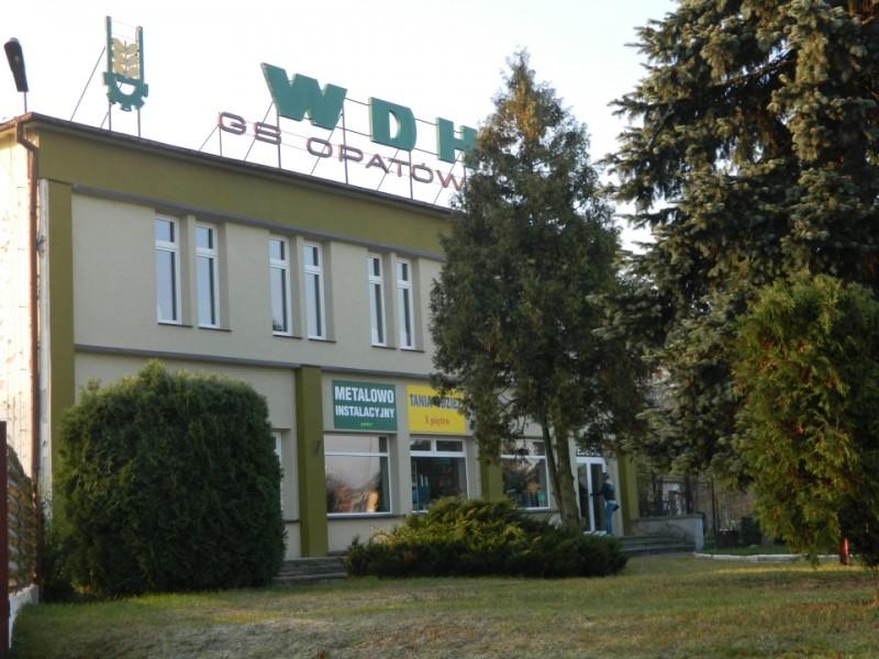 """Wiejski Dom Handlowy Gminnej Spółdzielni  """"Samopomoc Chłopska"""" w Opatówku"""