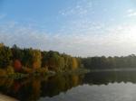 Zalew na Pokrzywnicy w Szałem zmienił w latach 70-tych krajobraz gminy. Fot. J. Miluśka-Stasiak