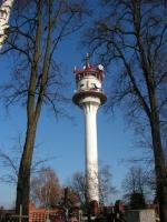 Wieża stacji przekaźnikowej na wzgórzu w Chełmcach. Fot. J. Miluśka-Stasiak