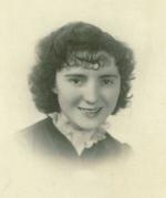 Janina Piotrowska, lipiec 1939 r. Zginęła w Auschwitz. Ze zbiorów GBP w Opatówku.