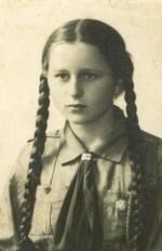 Irena Lingowska ok. 1936 r.