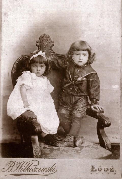 Tonia i Janusz Korejwowie, Łódź 1902
