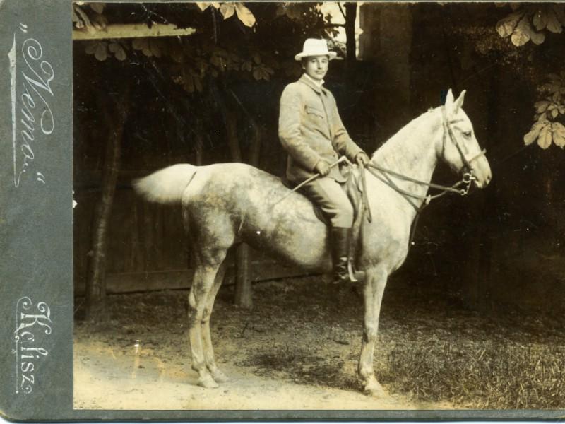 Karol Korejwo, Kalisz ok. 1900 r.