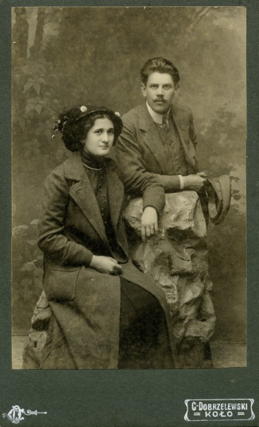 Antonina z Guttmejerów 1.v. Korejwo  i  Wawrzyniec Kasińscy, Koło