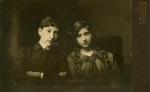 Janusz i Tonia Korejwowie, Kalisz ok. 1913 r.