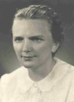 Maria Królewiczowa ok. roku 1953.