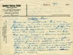 List od Stefana Kasińskiego do rodziny
