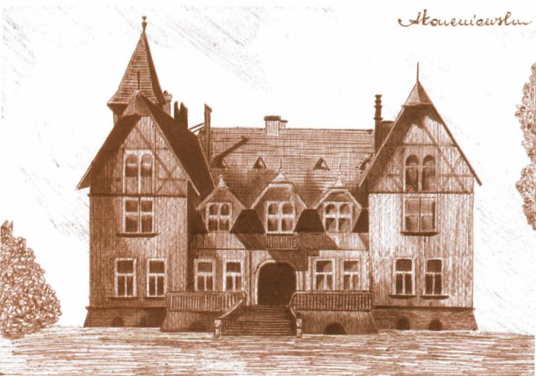 Pałac rodziny Schlosserów ok. 1910-1973