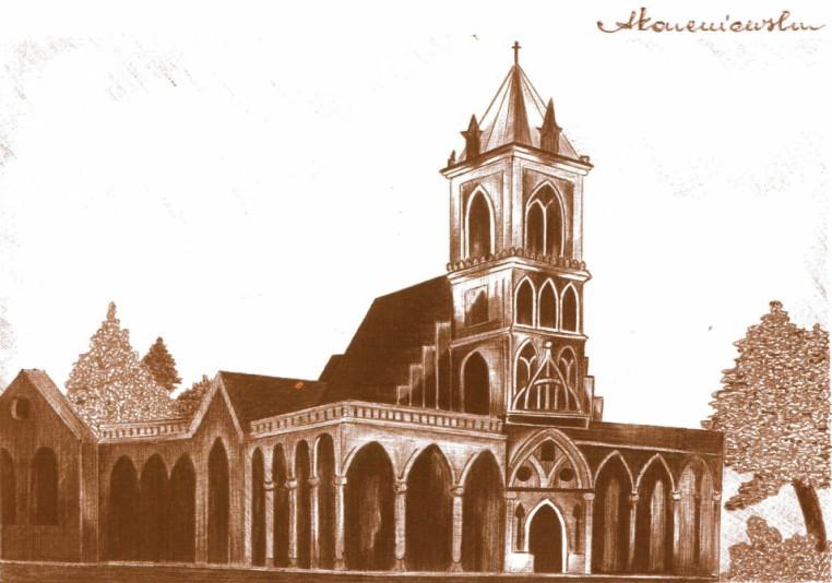 Kościół parafialny pod wezwaniem św. Doroty, ok.  1810-1905