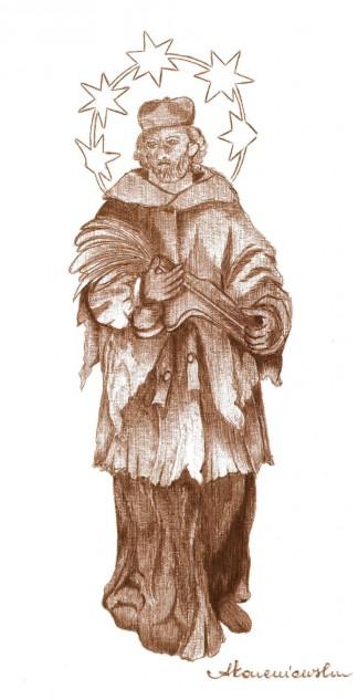 Figura św. Jana Nepomucena