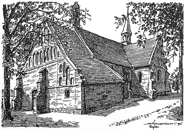Rajsko - późnogotycki kościół