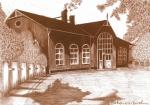 Dworzec kolejowy z pocz. XX w.