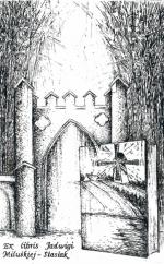 Exlibris Jadwigi Miluśkiej-Stasiak, akwaforta 112 x 71 mm, 2012