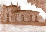 """Domek gotycki tzw. """"Cukierenka""""z pocz. XIX w."""