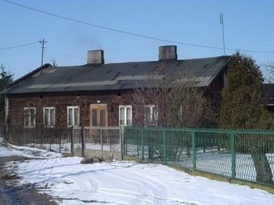 Jeden z najstarszych domów drewnianych w Opatówku