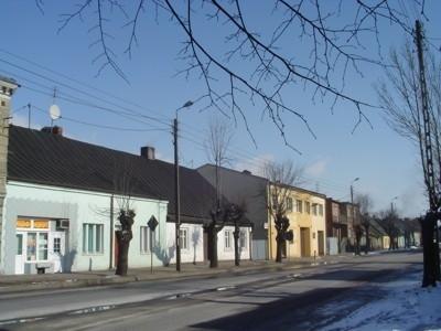 Budynki na ul. Łódzkiej