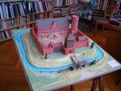 Makieta zamku