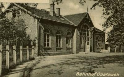 Fotografia z karty pocztowej z okresu okupacji